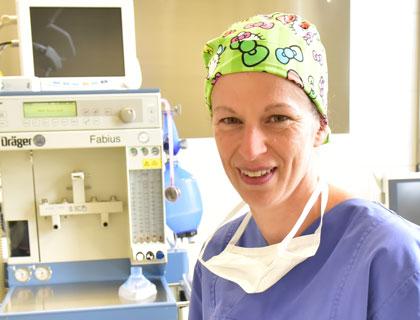 Jennifer Kloss anaesthesie op privat