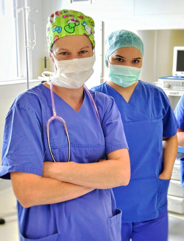 Anaesthesie Nuernberg OP Operation Klinik